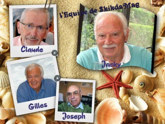 Jacky, Claude, Gilles et JOseph