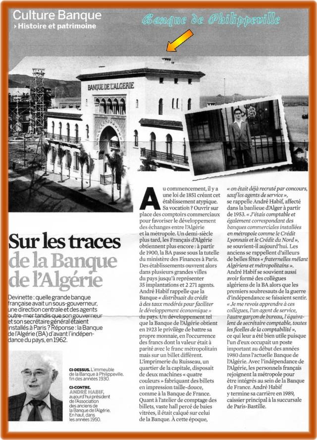 Banque d'Algérie à Philippeville