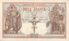 Billet banque Algérie